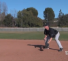 Baseball Lessons Drills For Infield 3 – Ground Ball Footwork