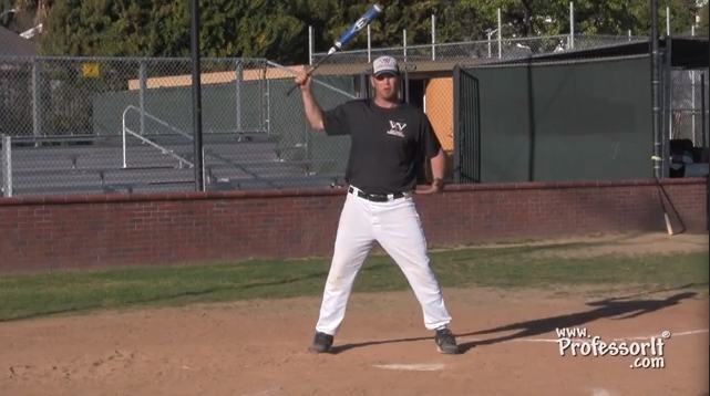 Baseball Lessons Hitting Drills 3 – Hands On Top