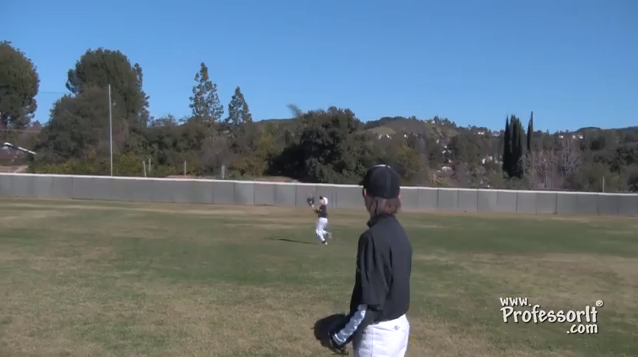 Baseball Lessons Outfield Drills 2 – Quarterback
