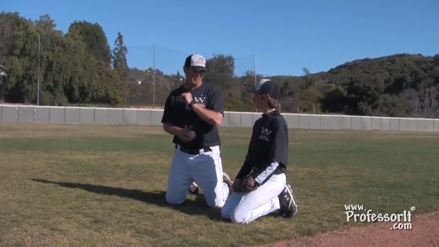 Baseball Lessons Proper Throwing 1 – Kneeling Drill