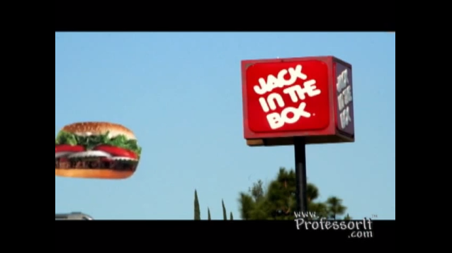 Fast Food Nutrition Tips 10 – Jack In The Box