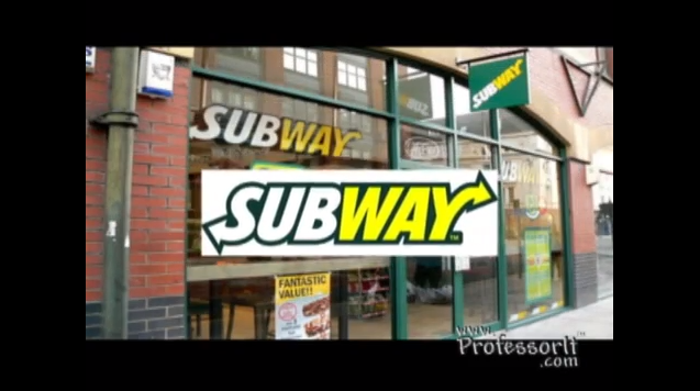 Fast Food Nutrition Tips 2 – Subway