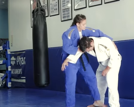 Martial Arts: Judo Lessons on video 18- Self Defense