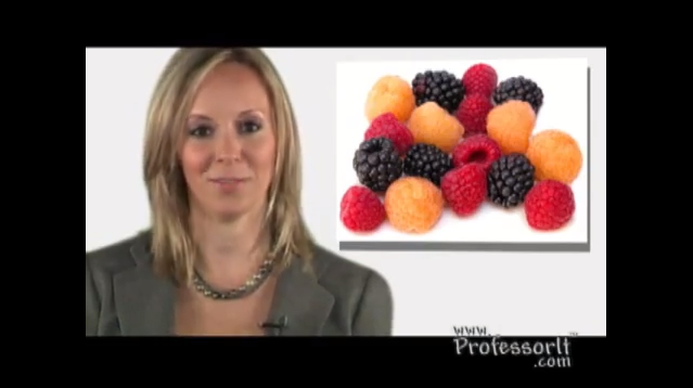 Nutritious Diet Tips On Video 8 – Super Berry