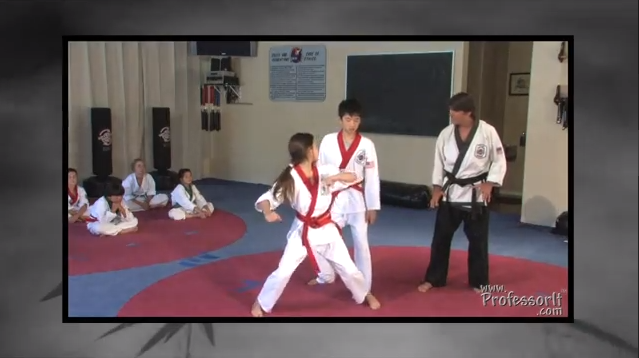 Self Defense For Children Lessons on Video 05– Reverse Head Butt