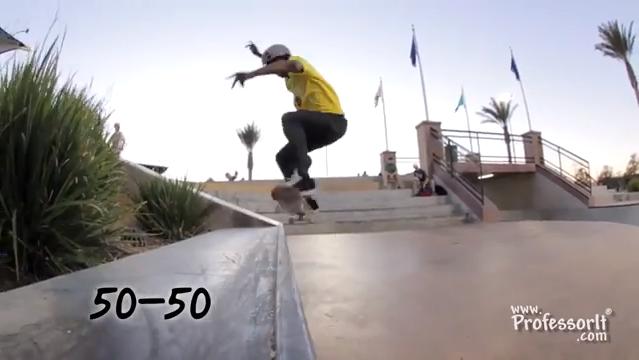 Skateboarding Tricks 11: 50-50