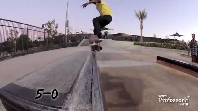Skateboarding Tricks 12: 5-0