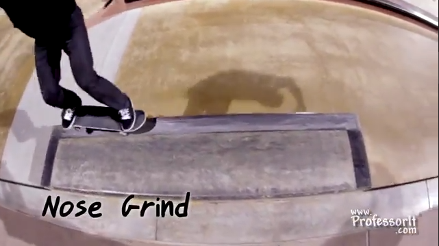Skateboarding Tricks 13: Nose Grind