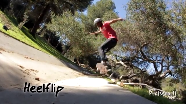 Skateboarding Tricks 8: Heelflip