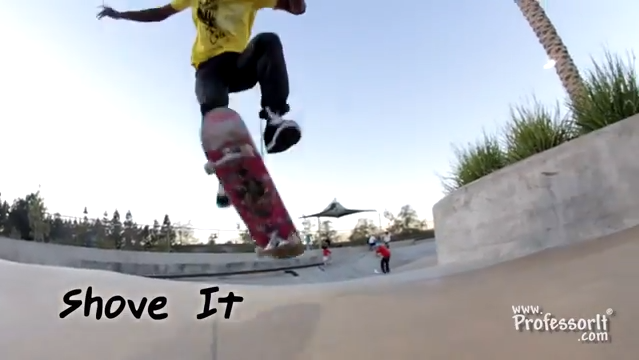Skateboarding Tricks 9: Shove It