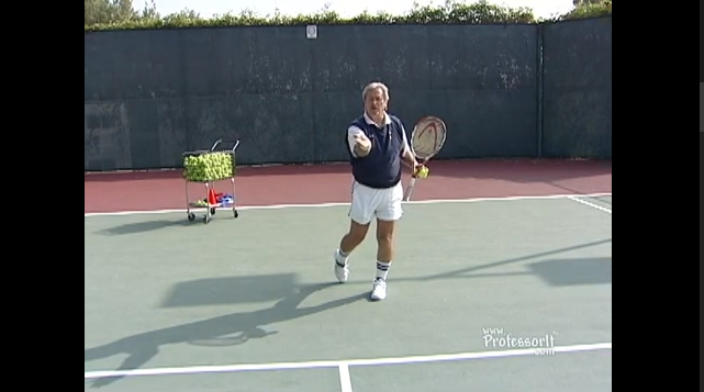 Tennis Lessons On Video Episode 15 Under Spin Drive