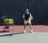 Tennis Lessons On Video Episode 21 Backhand Underspin Drop Shot