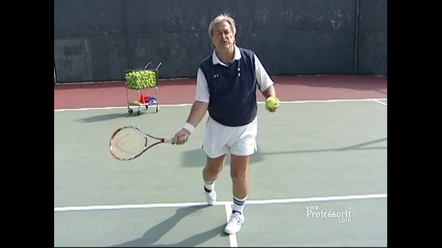 Tennis Lessons On Video Episode 27 Optimum Power