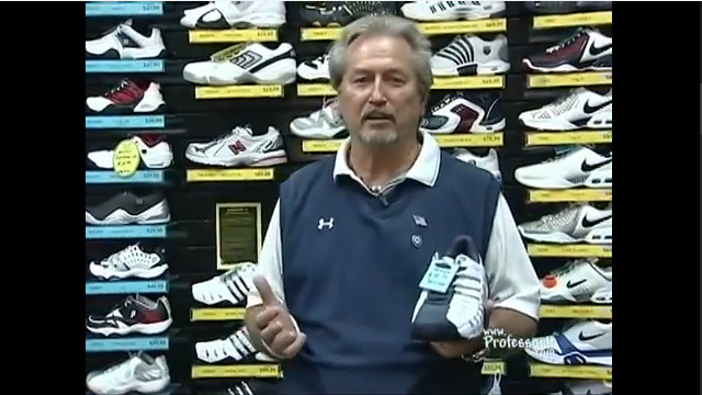 Tennis Lessons On Video Episode 7 Shoe Selection