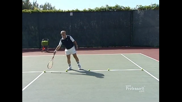 Tennis Lessons On Video Episode 8 Six Aim Points of Serve