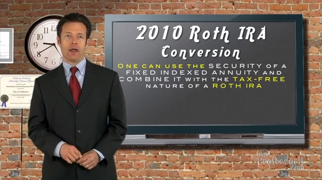 Investment Tips On Video 8 – 2010 Roth Ira conversion