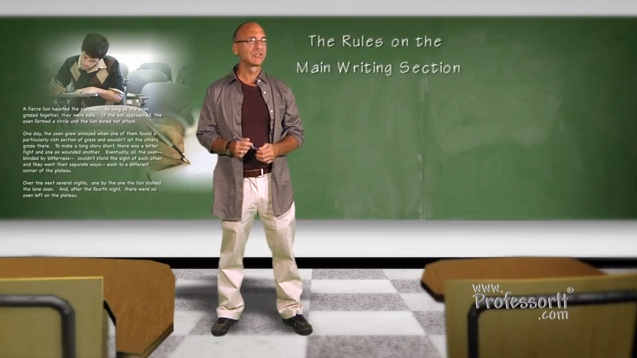 SAT Prep – The Rules of The Main Writing Section