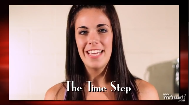 Tap Dance Lessons On Video Episode 9 – Time Step